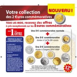Votre collection des 2 euros commémoratives