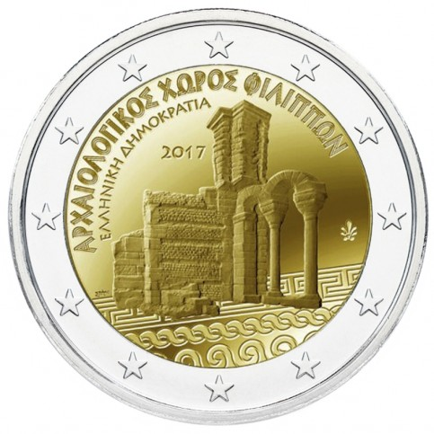 Grèce 2017 - 2 euro commémorative Philippi