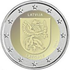 Lettonie 2017 - 2 euro commémorative Latgale