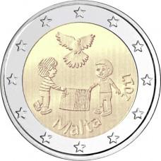 Malte 2017 - 2 euro commémorative La paix