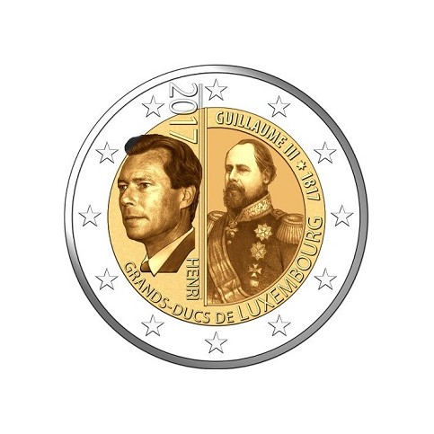 Luxembourg 2017 - 2 euro commémorative Guillaume III