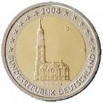 Allemagne 2008 - 2 euro commémorative