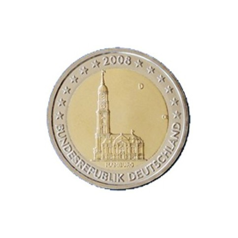 ALLEMAGNE 2008 - 2 EUROS COMMEMORATIVE
