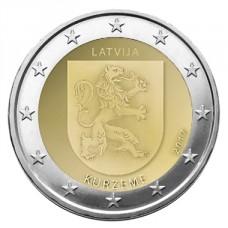 Lettonie 2017 - 2 euro commémorative Kurzeme