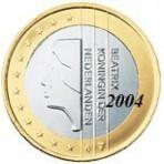 Pays Bas 1 euro 2004