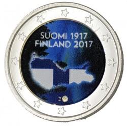 Finlande 2017 - 2 euro commémorative en couleur