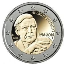 Allemagne 2018 - 2 euro commémorative Helmut