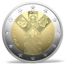Lettonie 2018 - 2 euro commémorative Etats Baltes