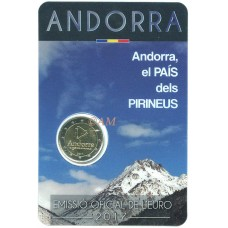 Andorre 2017 - 2 euro commémorative Pyrénées