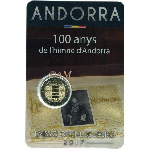 Andorre 2017 - 2 euro commémorative Hymne