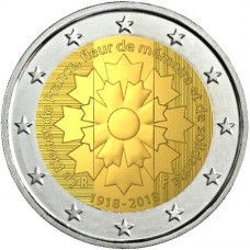 France 2018 - 2 euro commémorative Bleuet