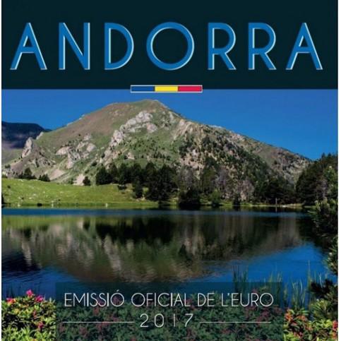 Andorre 2017 - Coffret BU