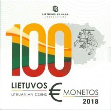 Lituanie 2018 - Coffrets euro BU