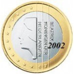 Pays Bas 1 euro 2002