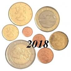 Finlande 2018 : Série complète euro neuve