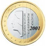 Pays Bas 1 euro 2001