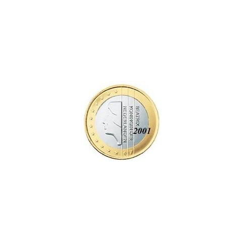 Pays Bas 1 EURO  Bas 2001