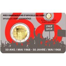 Belgique 2018 - 2 euro commémorative Mai 1968