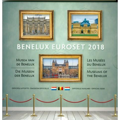 Benelux 2018 - Coffrets euro BU