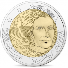 France 2018 - 2 euro commémorative Simone Veil