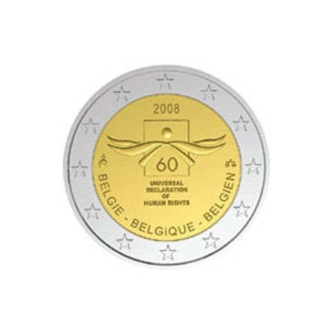 BELGIQUE 2008 - 2 EUROS COMMEMORATIVE