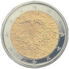 FINLANDE 2008 - 2 EUROS COMMEMORATIVE