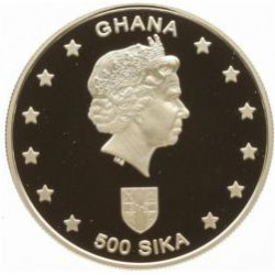 Série 6 pièces GHANA