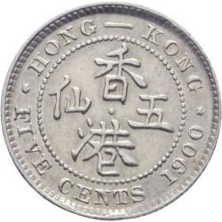 Série 5 pièces HONG-KONG