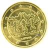 Lituanie 2018 - 2 euro commémorative Danse dorée à l'or fin 24 carats