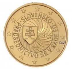 Slovaquie 2016 - 2 euro commémorative dorée à l'or fin 24 carats