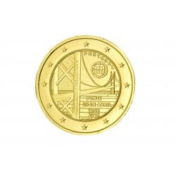 Portugal 2016 -  2 euro commémorative Pont dorée à l'or fin 24 carats