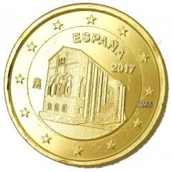 Espagne 2017 - 2 euro commémorative UNESCO dorée à l'or fin 24 carats