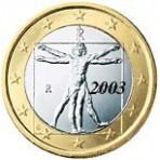 Italie 1 euro 2003