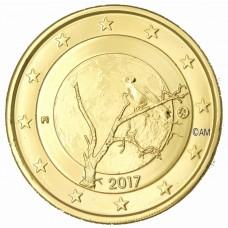 Finlande 2017 - 2 euro commémorative Nature dorée à l'or fin 24 carats