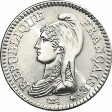 Un Franc République 1992
