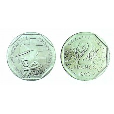 2 Francs Jean Moulin