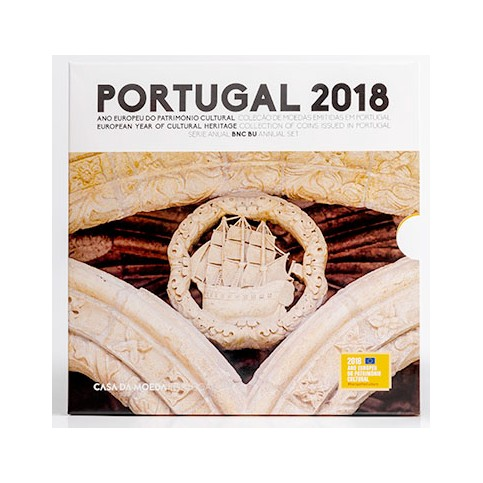 Portugal 2018 - Coffrets euro BU