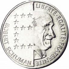 10 Francs Robert Schuman
