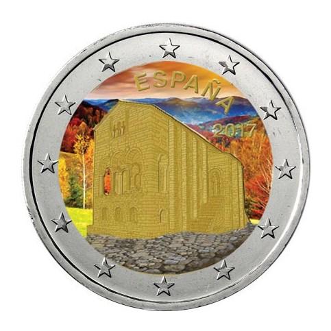 Espagne 2017 - 2 euro commémorative en couleur