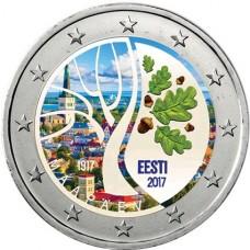 Estonie 2017 - 2 euro commémorative en couleur