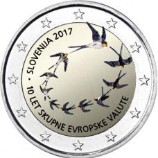 Slovenie 2017 - 2 euro commémorative en couleur