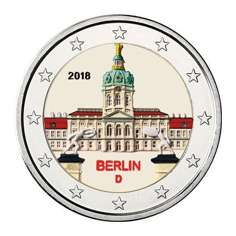 Allemagne 2018 Château- 2 euro commémorative en couleur