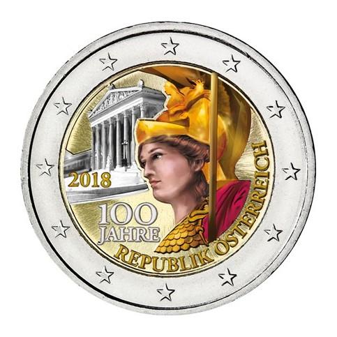 Autriche 2018 - 2 euro commémorative en couleur