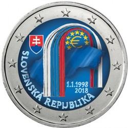 Slovaquie 2018 - 2 euro commémorative en couleur