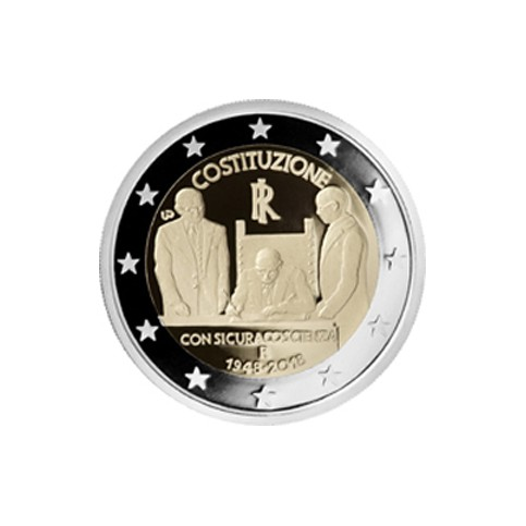 Italie 2018 - 2 euro commémorative Constitution