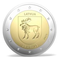 Lettonie 2018 - 2 euro commémorative Zemgale