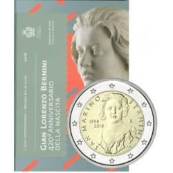 Saint Marin 2018 - 2 euro commémorative Bernini