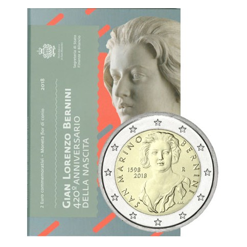 Saint Marin 2018 - 2 euro commémorative Bernini
