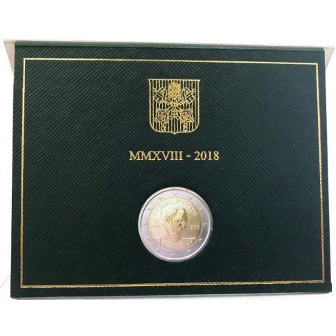 Vatican 2018- 2 euro commémorative Padre PIO