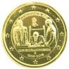 Italie 2018 - 2 euro commémorative Constitution dorée à l'or fin 24 carats